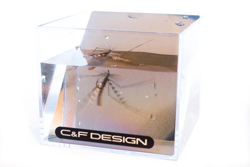 Tørrfluer sett med fiskeblikk-5