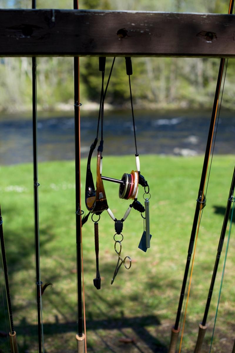 En fiskevenn rundt halsen_