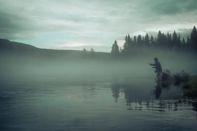 Hodet over vannet i Rena