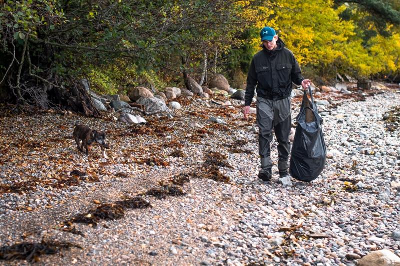 Søppelplukking og sjøørretfiske-3