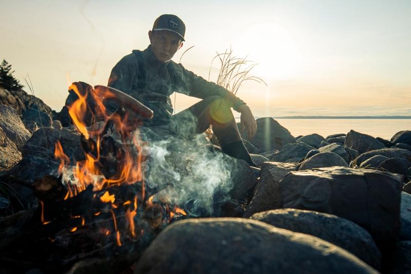 Søppelplukking og sjøørretfiske-6